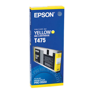 Epson T475011 Yellow Ink Cartridge
