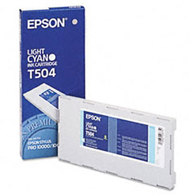 Epson T504011 Light Cyan Ink Cartridge