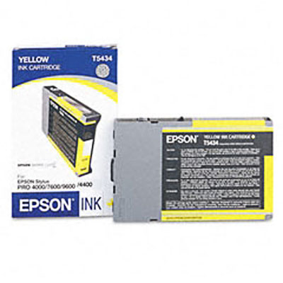 Epson T543400 Ultrachrome Yellow Ink Cartridge