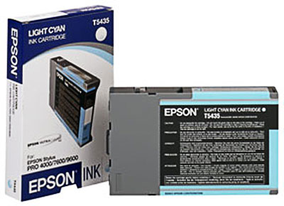 Epson T543500 Ultrachrome Light Cyan Ink Cartridge