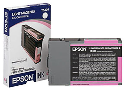 Epson T543600 Ultrachrome Light Magenta Ink Cartridge