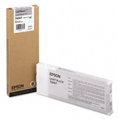 Epson T606700 Light Black Ink Cartridge (T6067)