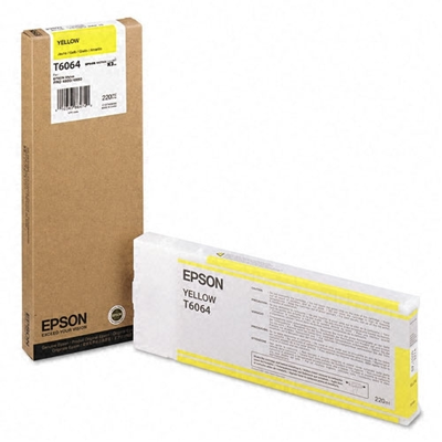 Epson T606400 Yellow Ink Cartridge (Epson T6064)