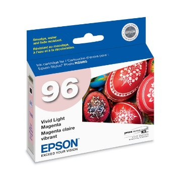 Epson T096620 Light Magenta Ink Cartridge (96)