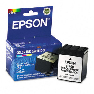 Epson S020036 TriColor Ink Cartridge