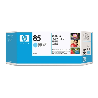HP C9434A Light Cyan Ink Cartridge (HP 85)