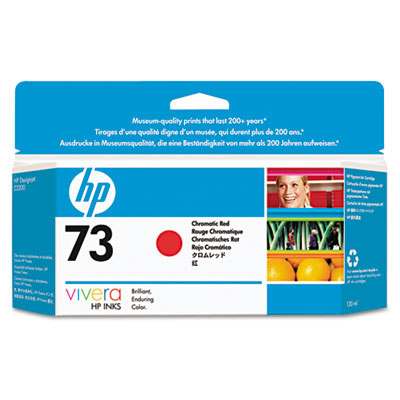 HP CD952A Chromatic Red Ink Cartridge (73)