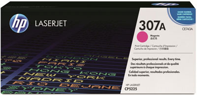 HP CE743A Magenta Toner Cartridge (307A)