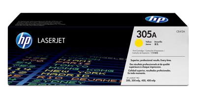 HP CE412A Yellow Toner Cartridge (305A)