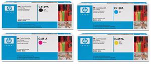 HP C41#A Cyan, Magenta, Yellow, Black Toner Cartridge Multipack