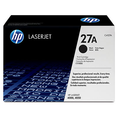 HP C4127A Black Toner Cartridge (27A)