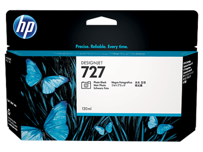 HP B3P23A Black Photo Ink Cartridge (727)