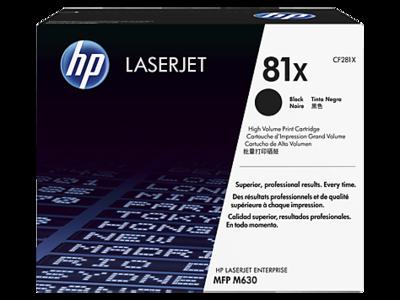 HP CF281X Black Toner Cartridge (81X)