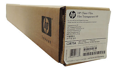 HP C3875A 36 in. x 75 ft. Clear Film Roll