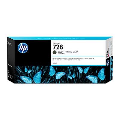 HP F9J68A Matte Black Ink Cartridge (728)