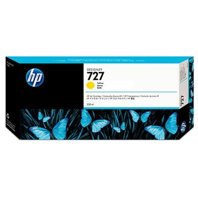 HP F9J78A Yellow Ink Cartridge (727)