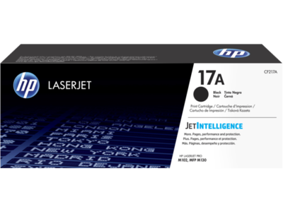 HP CF217A Black Toner Cartridge (17A)