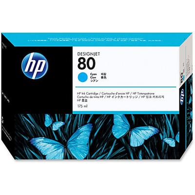 HP C4872A Cyan Ink Cartridge (80)