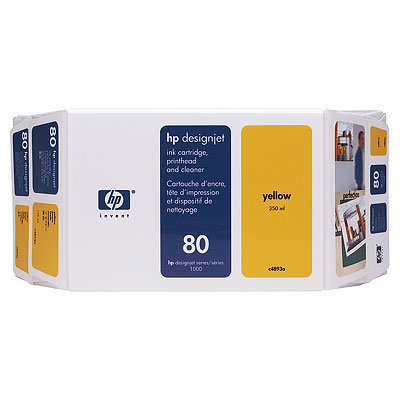 HP C4893A Yellow Value Pack (80)