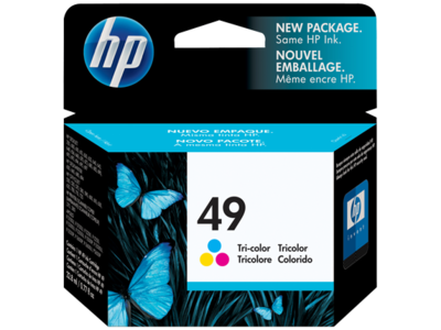 HP 51649A TriColor Ink Cartridge (49)