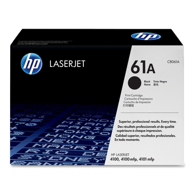 HP C8061A Black Toner Cartridge (HP 61A)