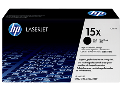 HP C7115X Black Toner Cartridge (15X)