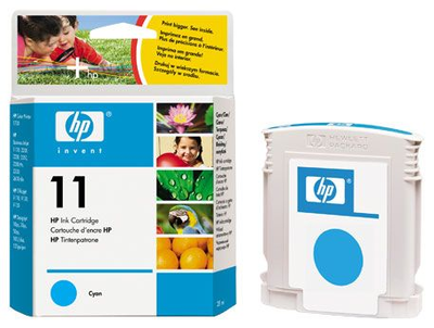 HP C4836A Cyan Ink Cartridge (HP 11)