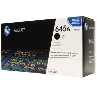 HP C9730A Black Toner Cartridge (645A)