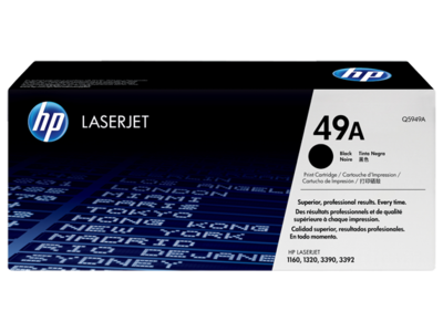 HP Q5949A Black Toner Cartridge (49A)