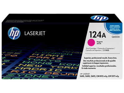 HP Q6003A Magenta Toner Cartridge (124A)