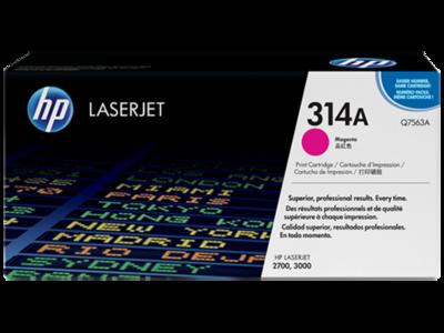 HP Q7563A Magenta Toner Cartridge (314A)