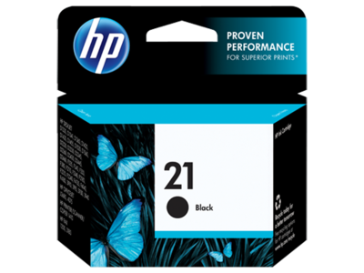 HP C9351AN Black Ink Cartridge (HP 21)