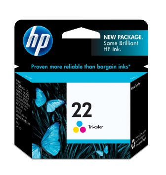 HP C9352AN TriColor Ink Cartridge (22)