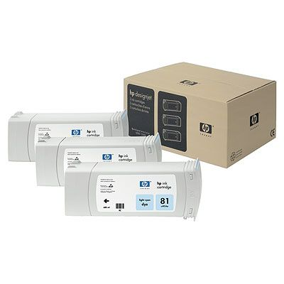 HP C5070A Light Cyan 3-ink Multipack (81)
