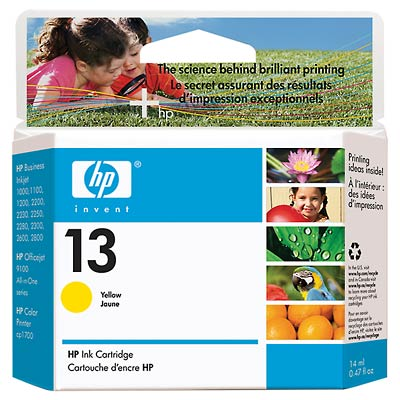 HP C4817A Yellow Ink Cartridge (13)
