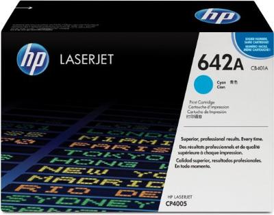 HP CB401A Cyan Toner Cartridge (642A)