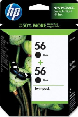 HP C9319FN Black Ink (56)
