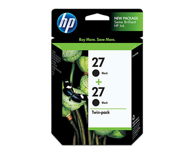 HP C9322FN Black 2-Pack Ink Cartridge (HP 27)
