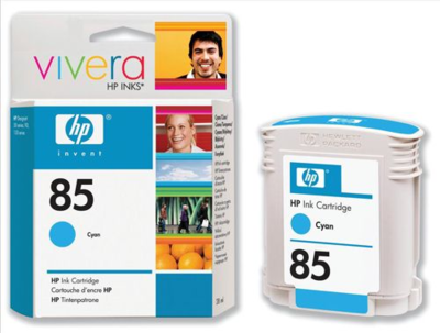 HP C9425A Cyan Ink Cartridge (85)