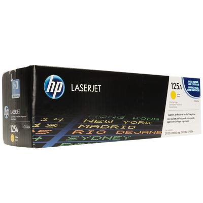 HP CB542A Yellow Toner Cartridge (125A)