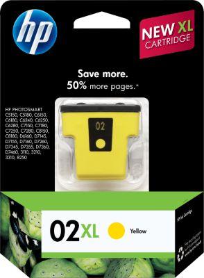 HP C8732WN Yellow Ink Cartridge (02XL)