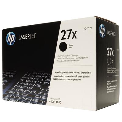 HP C4127X Black Toner Cartridge (27X)