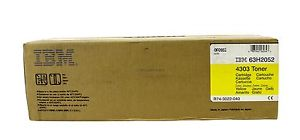 IBM 63H2052 Yellow Toner Cartridge