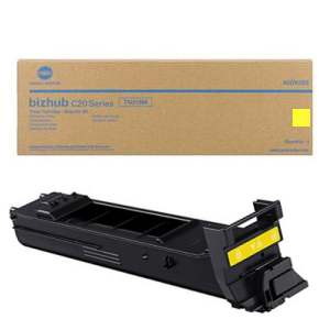 Konica Minolta A0DK233 Yellow Toner Cartridge (TN318Y)