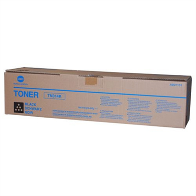 Konica Minolta AOD7131 Black Toner Cartridge (TN314K)
