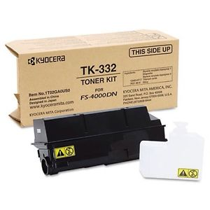 Kyocera Mita 1T02GA0US0 Black Toner Cartridge (TK-332)