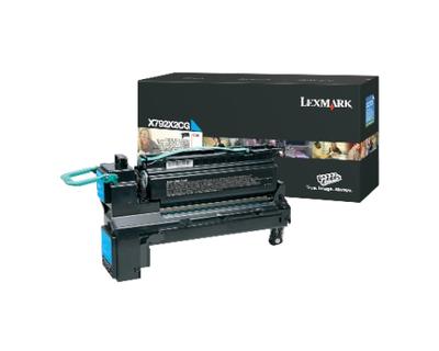 Lexmark X792X2CG Cyan Toner Cartridge