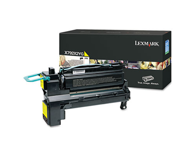 Lexmark X792X2YG Yellow Toner Cartridge