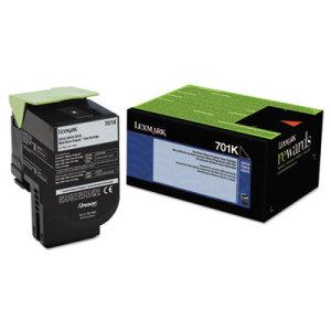Lexmark 70C10K0 Black Toner Cartridge (701K)