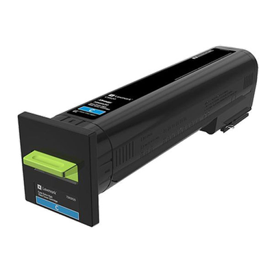 Lexmark 72K0X20 Cyan Toner Cartridge